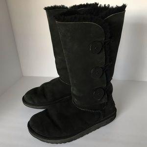 UGG Bailey Black Boots